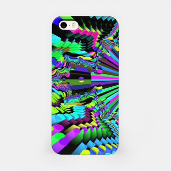 Thumbnail image of Rainbow fractals iPhone Case, Live Heroes