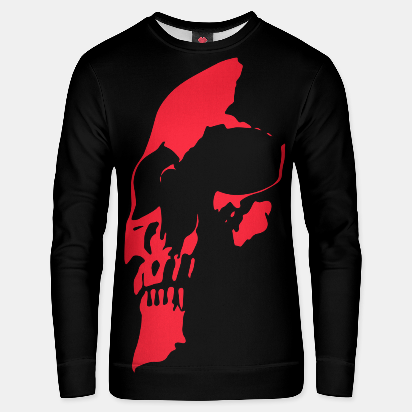 Image of RED HEAD Unisex sweater - Live Heroes