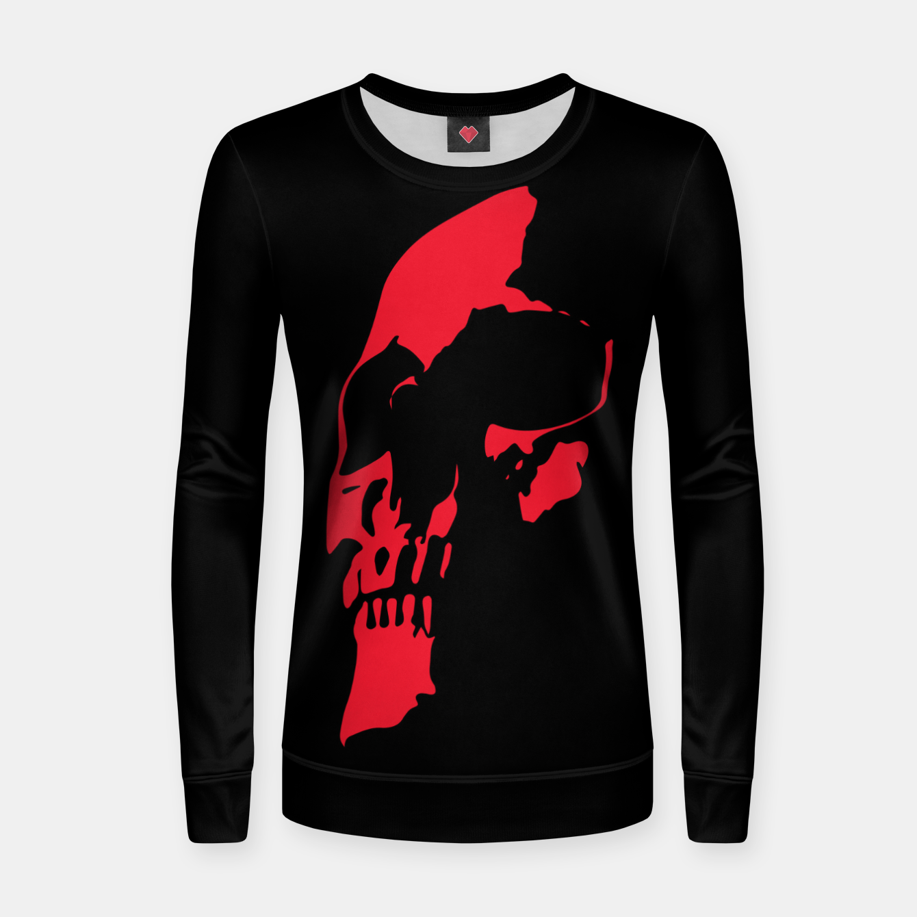 Image of RED HEAD Women sweater - Live Heroes
