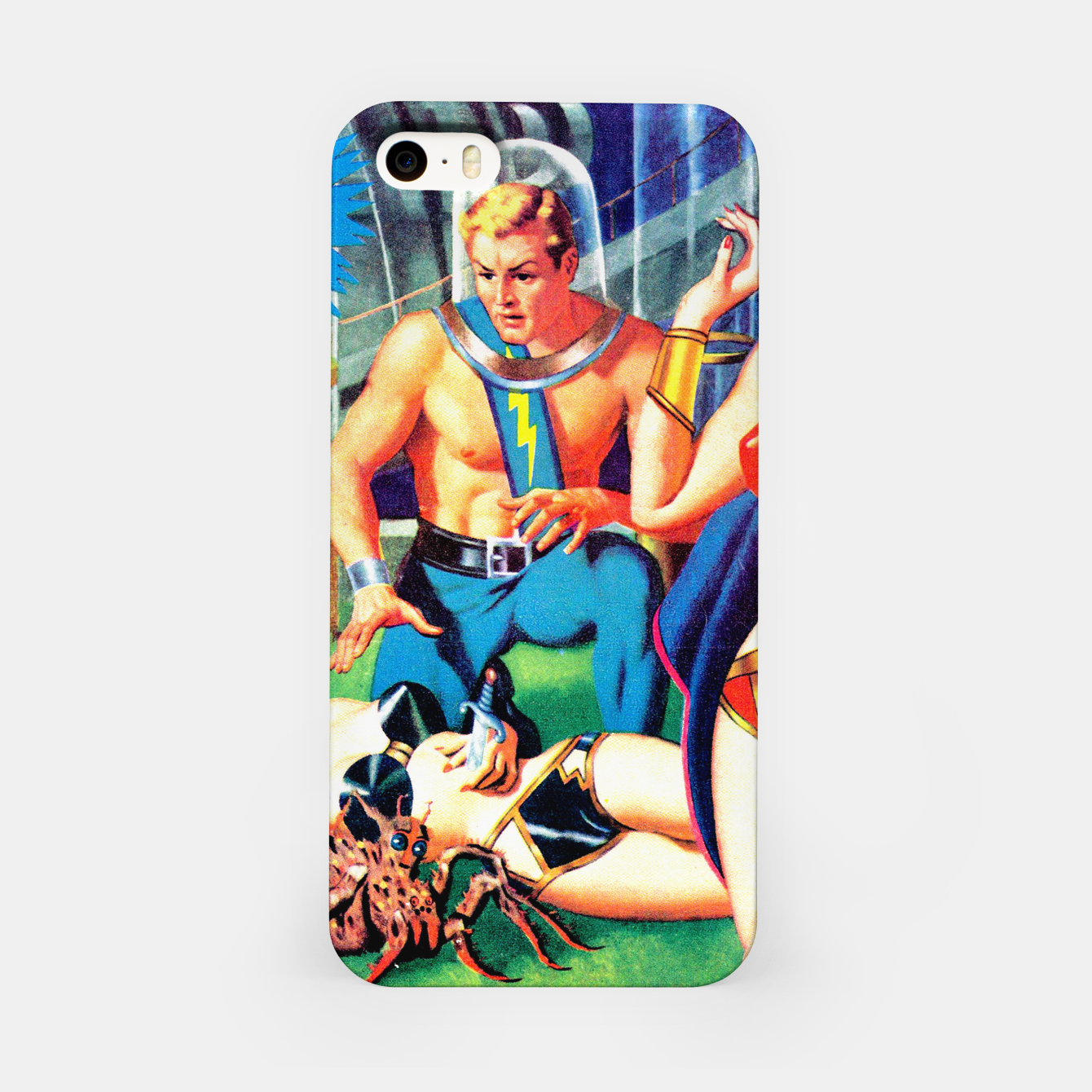 Image of AFRAID OF THE DARK-2 iPhone Case - Live Heroes