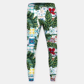 Thumbnail image of Plant a Garden In Which Strange Plants Grow & Mysteries Bloom Sweatpants, Live Heroes