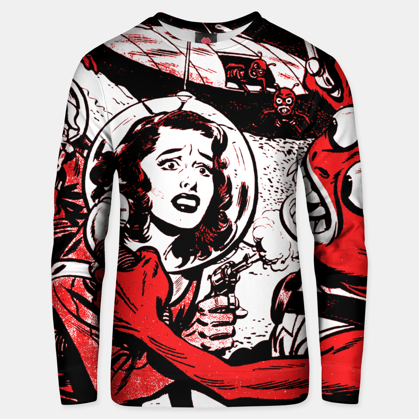 Image of OPERATION PERIL Unisex sweater - Live Heroes