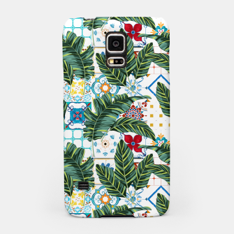 Thumbnail image of Plant a Garden In Which Strange Plants Grow & Mysteries Bloom Samsung Case, Live Heroes