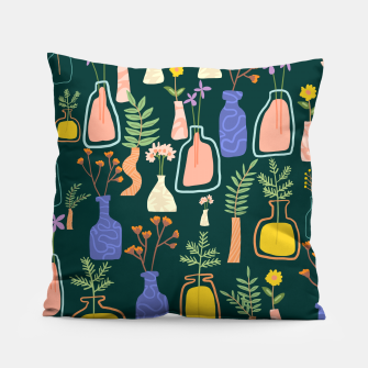 Thumbnail image of Garden As Though You Will Live Forever Pillow, Live Heroes
