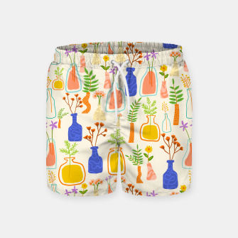 Thumbnail image of Garden As Though You Will Live Forever     Swim Shorts, Live Heroes