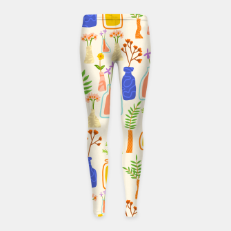 Thumbnail image of Garden As Though You Will Live Forever     Girl's leggings, Live Heroes