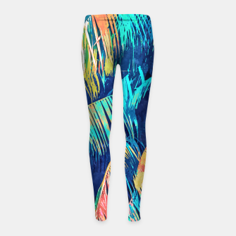 Thumbnail image of And into the forest I go, to lose my mind & find my soul  Girl's leggings, Live Heroes