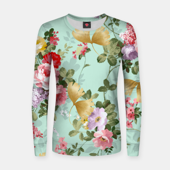 Thumbnail image of Where Flowers Bloom So Does Hope Women sweater, Live Heroes