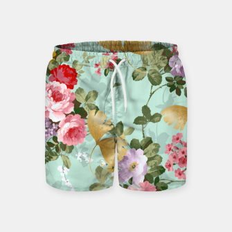 Thumbnail image of Where Flowers Bloom So Does Hope Swim Shorts, Live Heroes