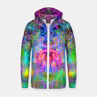 Thumbnail image of Delicious Fantasy Zip up hoodie, Live Heroes