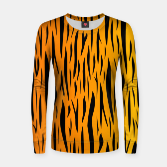 Tiger Stripes Women sweater thumbnail image