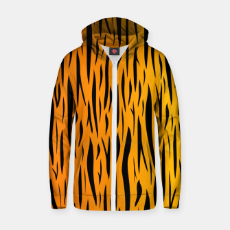 Tiger Stripes Zip up hoodie thumbnail image