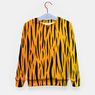 Tiger Stripes Kid's sweater thumbnail image