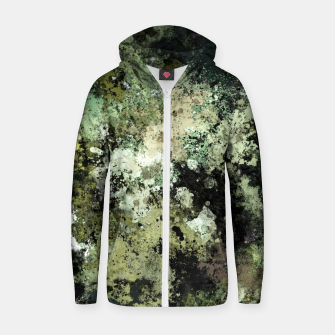 Thumbnail image of Concrete and ash Zip up hoodie, Live Heroes