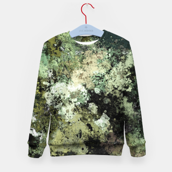 Thumbnail image of Concrete and ash Kid's sweater, Live Heroes