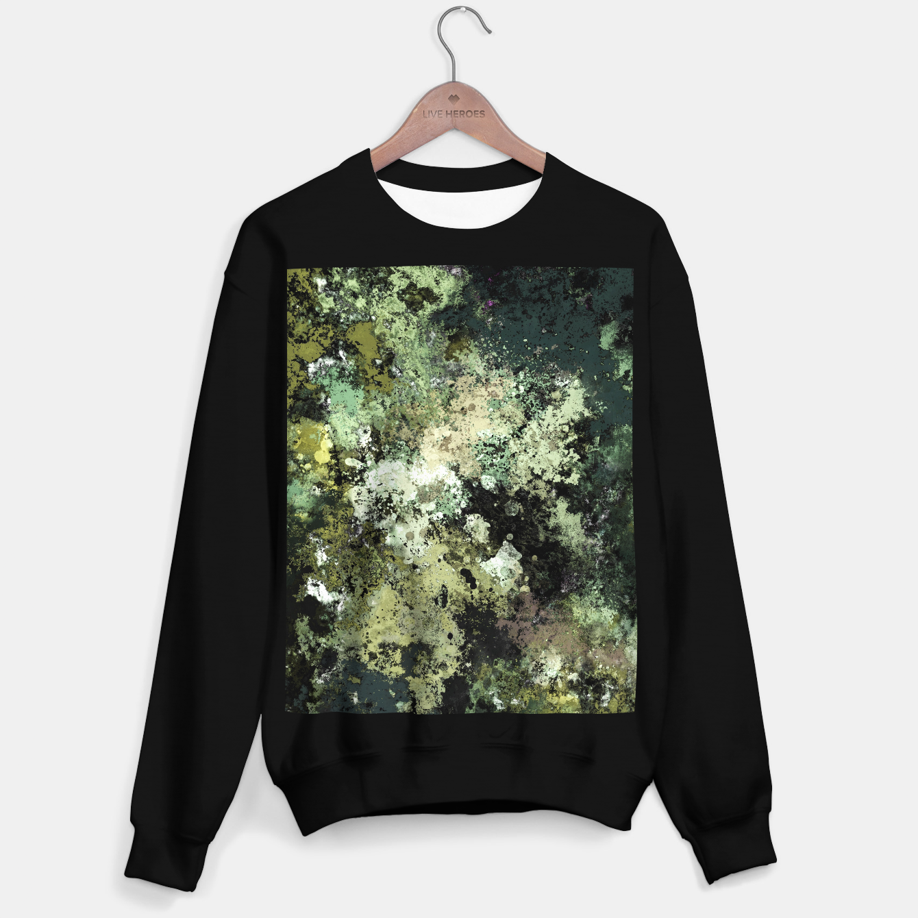 Image of Concrete and ash Sweater regular - Live Heroes