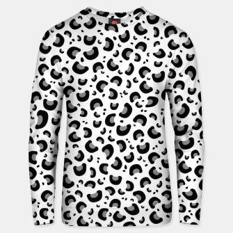 Thumbnail image of Snow Leopard Print Unisex sweater, Live Heroes