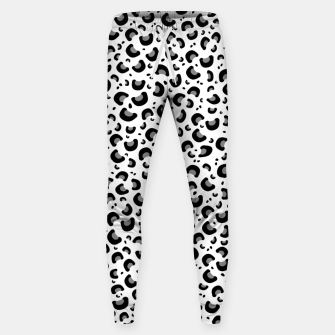 Thumbnail image of Snow Leopard Print Sweatpants, Live Heroes