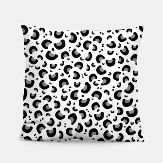 Thumbnail image of Snow Leopard Print Pillow, Live Heroes
