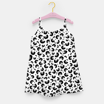 Thumbnail image of Snow Leopard Print Girl's dress, Live Heroes