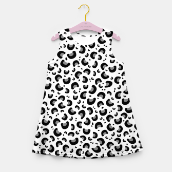 Thumbnail image of Snow Leopard Print Girl's summer dress, Live Heroes