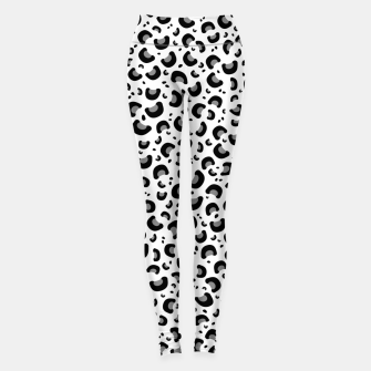 Thumbnail image of Snow Leopard Print Leggings, Live Heroes