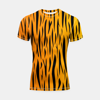 Tiger Stripes Shortsleeve rashguard thumbnail image