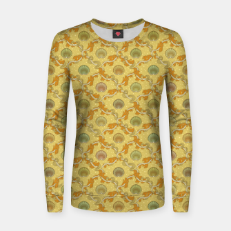 Miniatur The elegant grace of nature: scallop shells and sea weeds Women sweater, Live Heroes