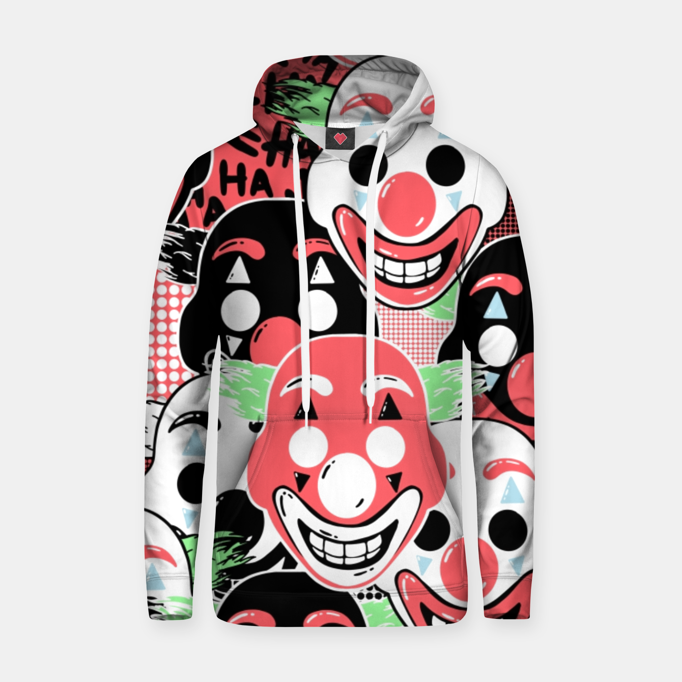 Image of Put on a happy face - Hoodie - Live Heroes