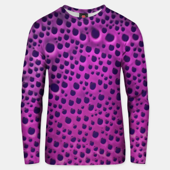 Purple Abstract Print Design Unisex sweater thumbnail image