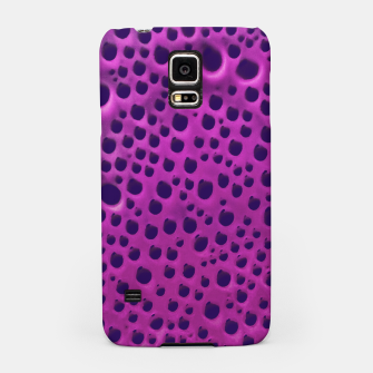 Purple Abstract Print Design Samsung Case thumbnail image
