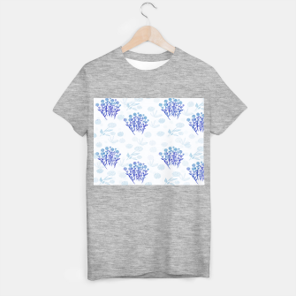 Lauras Floral Sky-blue Camiseta Regular thumbnail image
