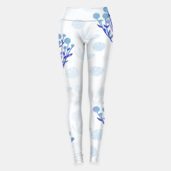 Lauras Floral Sky-blue Leggings thumbnail image