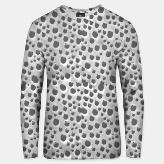 Silver Abstract Print Design Unisex sweater thumbnail image