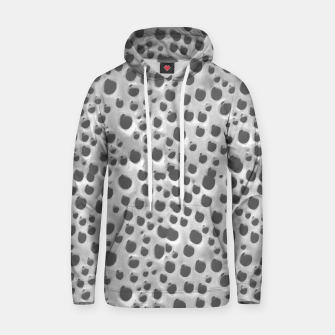 Silver Abstract Print Design Hoodie thumbnail image