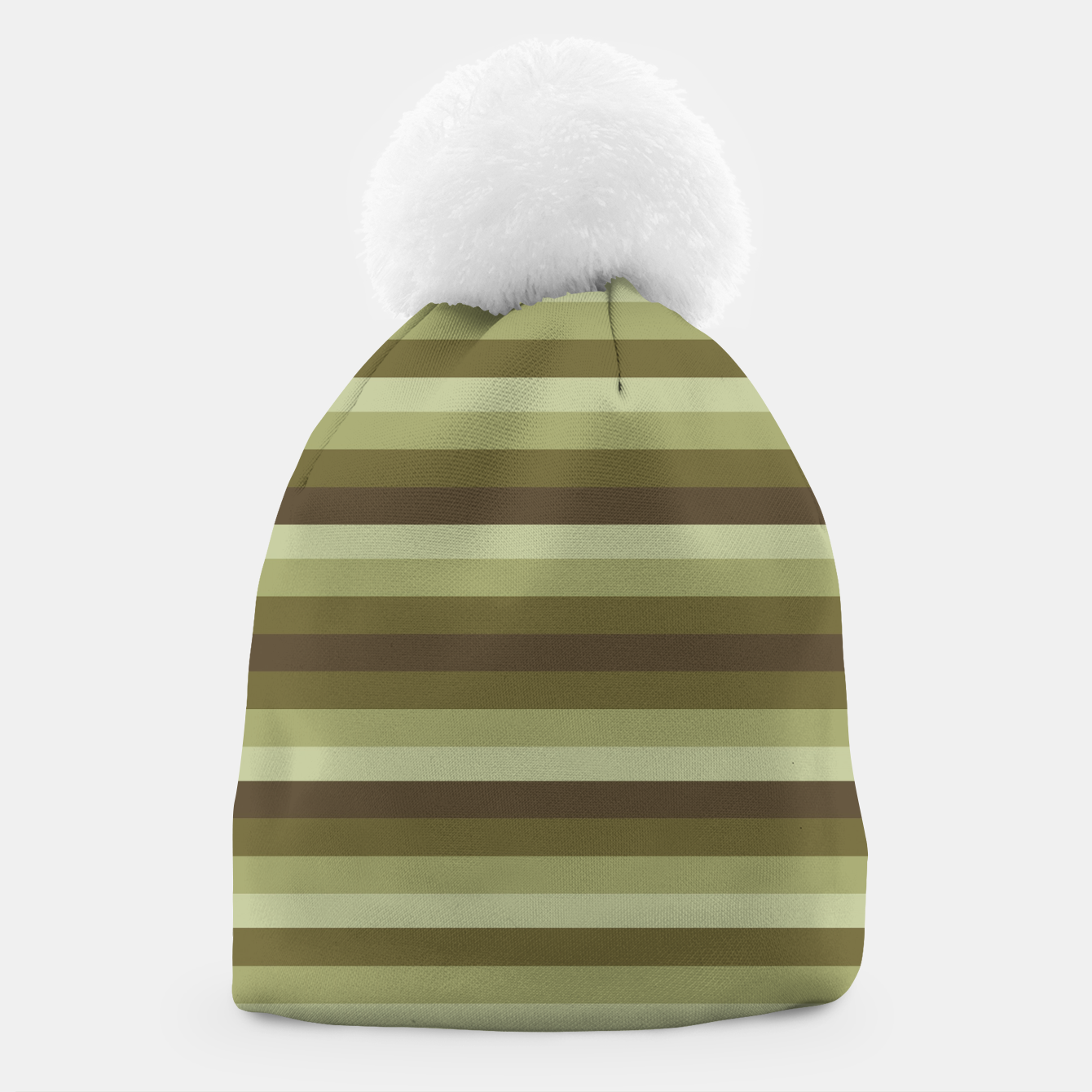 Image of Linear Warm Print Design Beanie - Live Heroes
