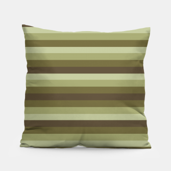 Thumbnail image of Linear Warm Print Design Pillow, Live Heroes