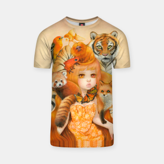 Thumbnail image of Donna Aurantiaco T-Shirt, Live Heroes
