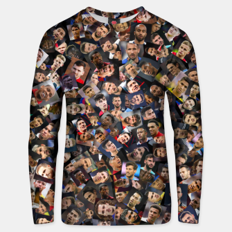 Thumbnail image of The best football players in the world Unisex sweater, Live Heroes