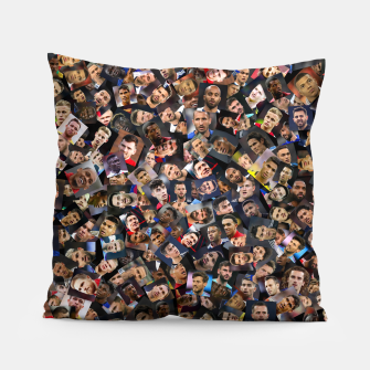 Thumbnail image of The best football players in the world Pillow, Live Heroes
