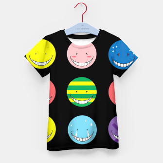 Thumbnail image of assassination classroom  Kid's t-shirt, Live Heroes