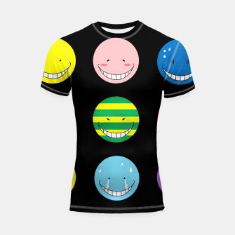 Thumbnail image of assassination classroom  Shortsleeve rashguard, Live Heroes