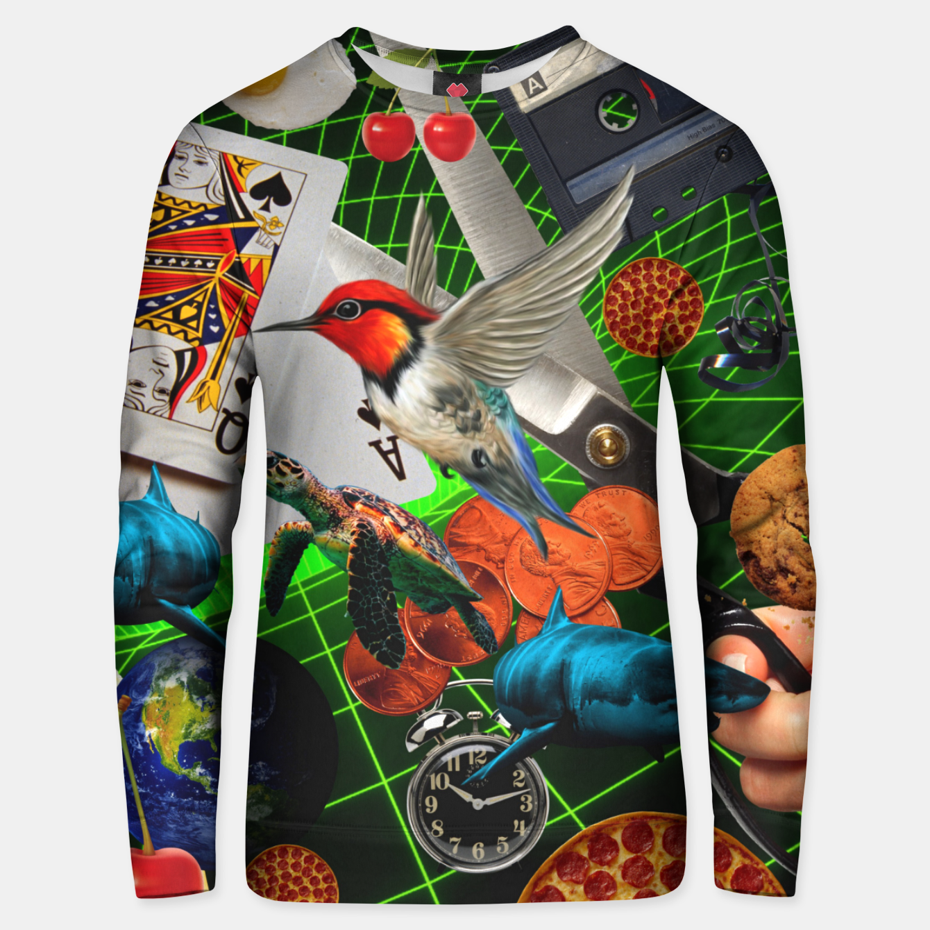 Image of THROUGH SPACE AND TIME  Unisex sweater - Live Heroes