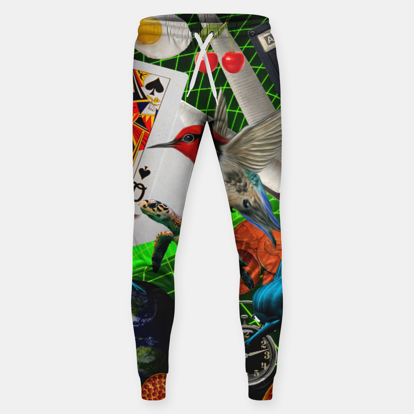 Image of THROUGH SPACE AND TIME  Sweatpants - Live Heroes