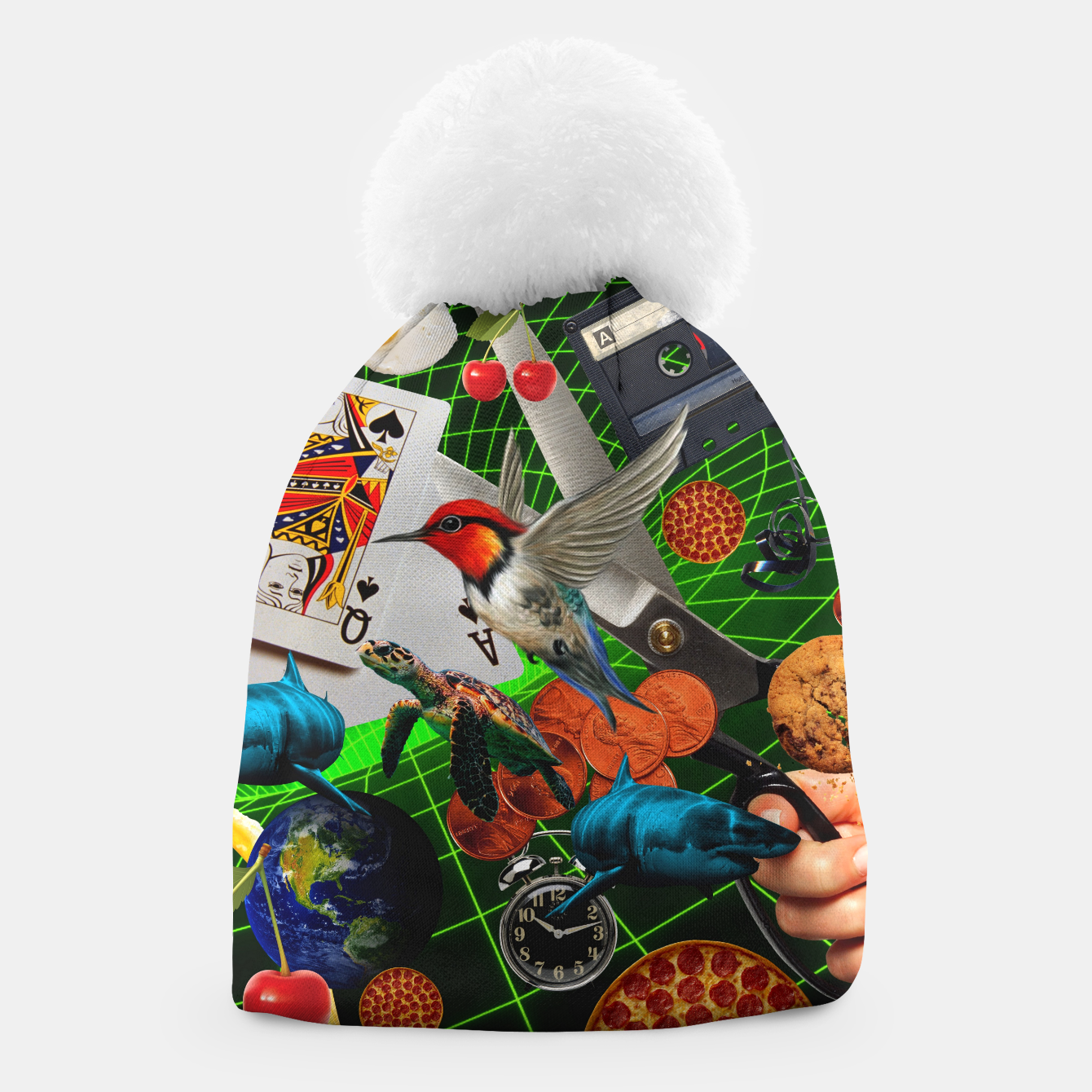 Image of THROUGH SPACE AND TIME  Beanie - Live Heroes