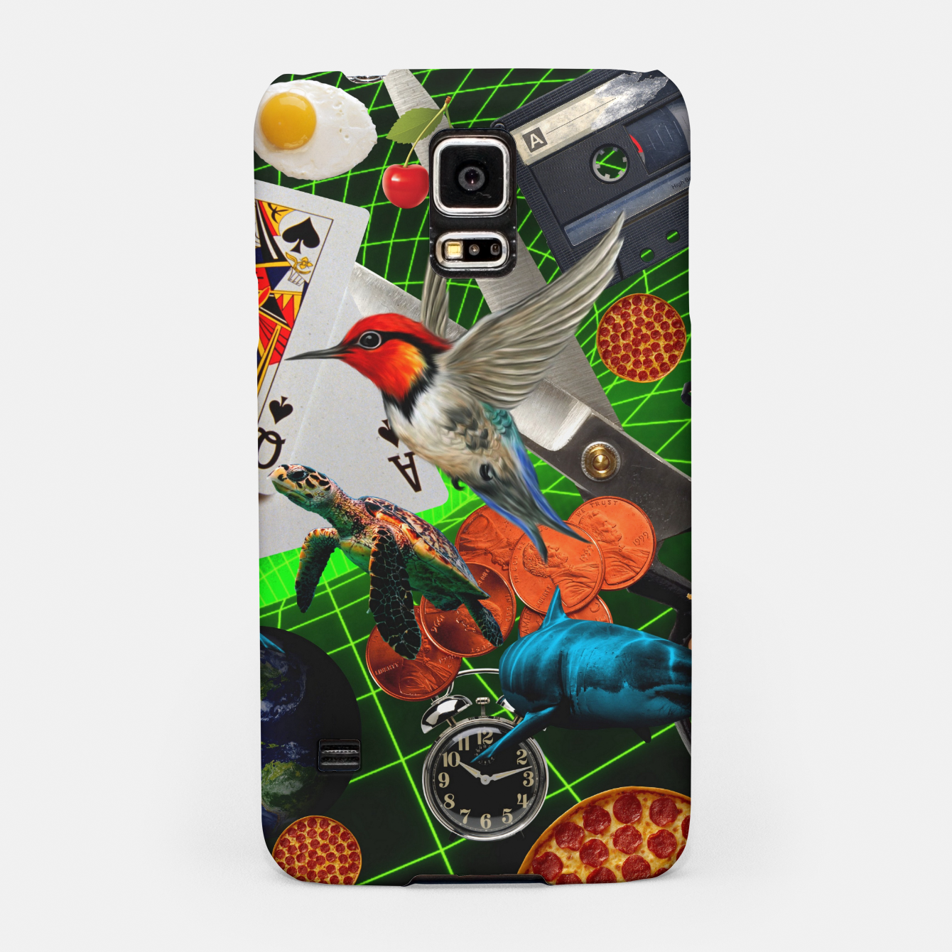 Image of THROUGH SPACE AND TIME  Samsung Case - Live Heroes
