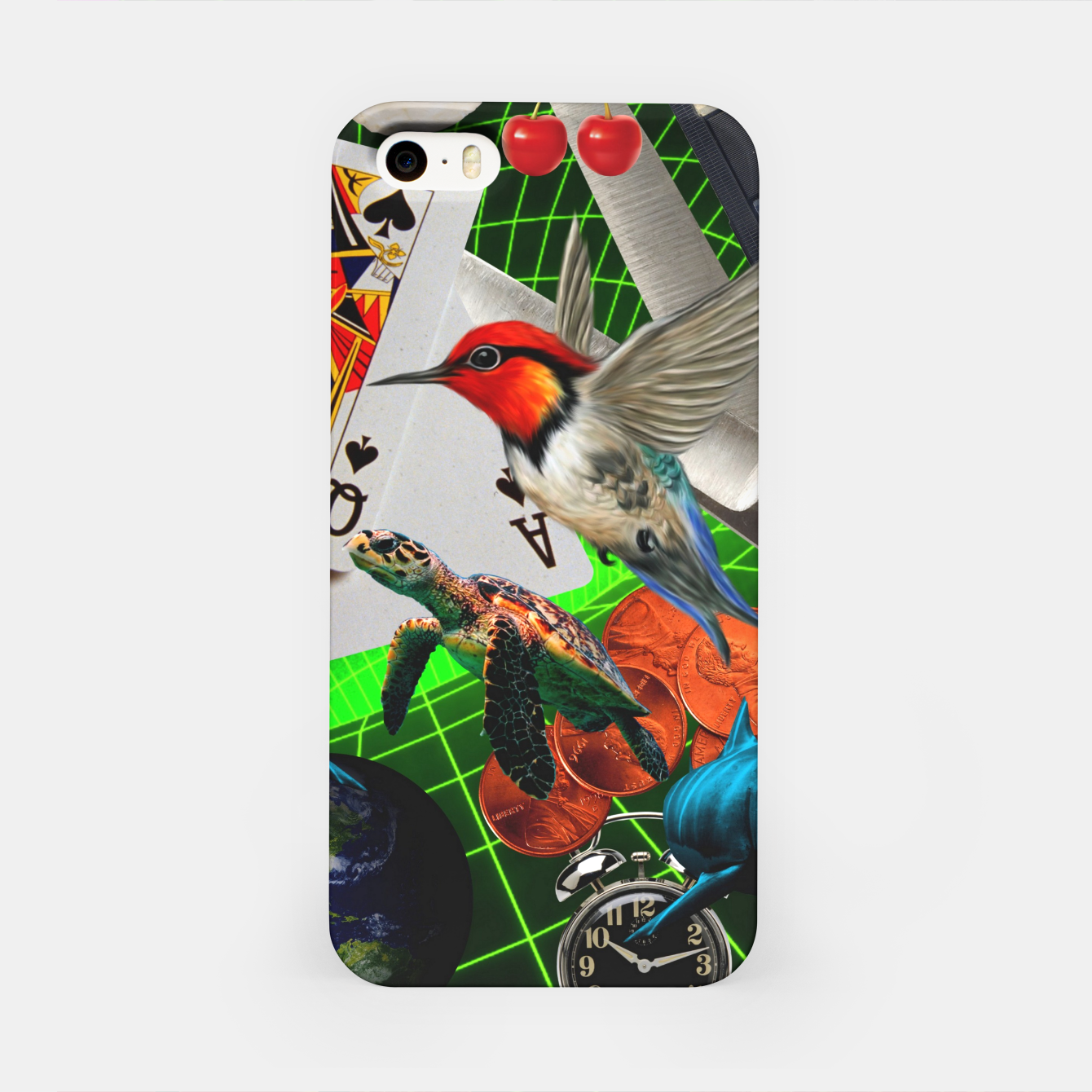 Image of THROUGH SPACE AND TIME  iPhone Case - Live Heroes