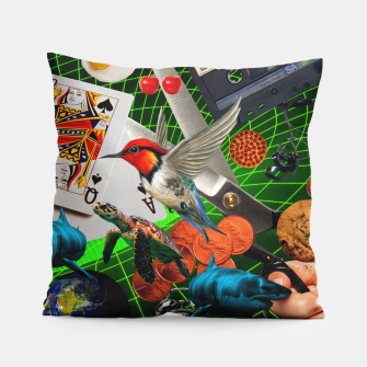 Thumbnail image of THROUGH SPACE AND TIME  Pillow, Live Heroes