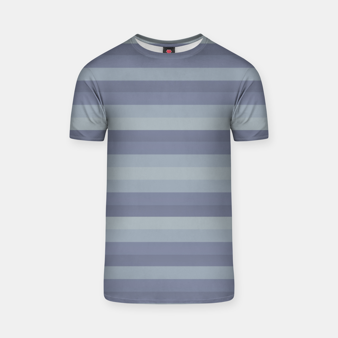 Image of Linear Cold Print Design T-shirt - Live Heroes