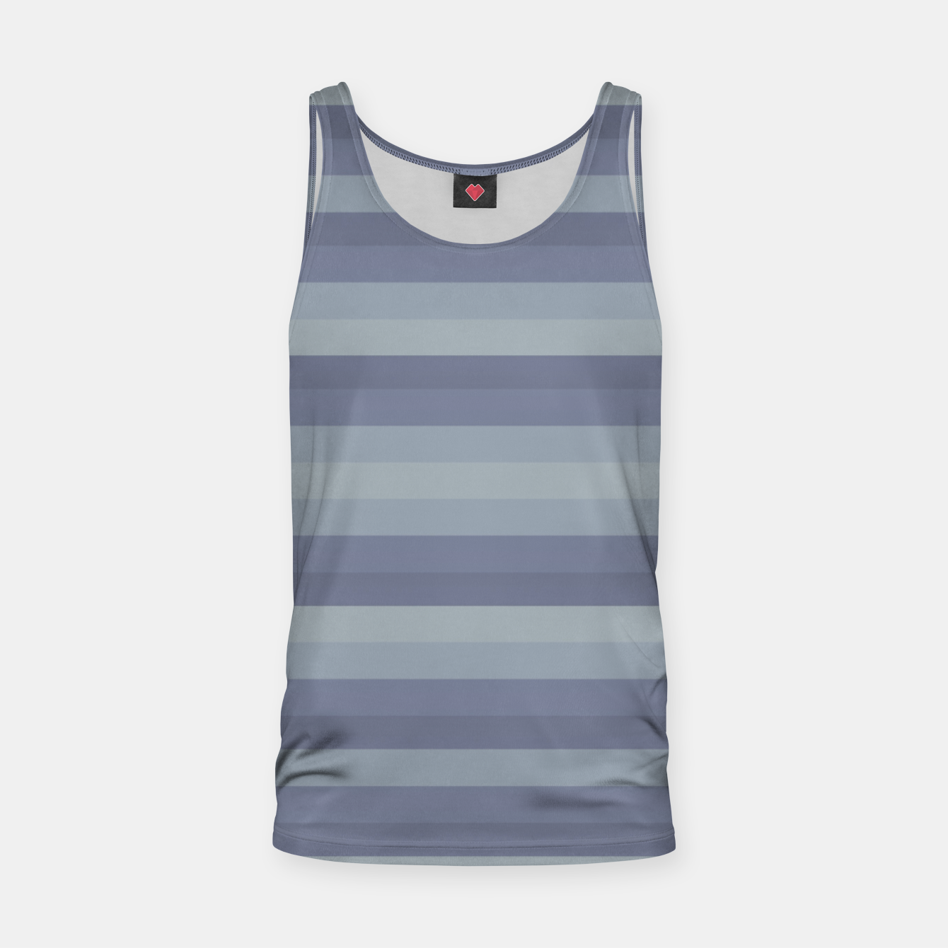 Image of Linear Cold Print Design Tank Top - Live Heroes